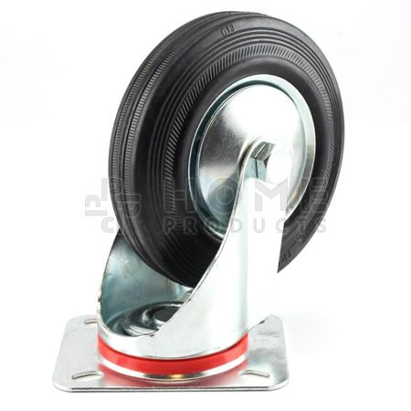 Swivel Castor Metal RIM 75 mm