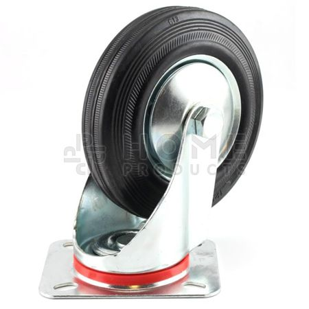 Swivel Castor Metal RIM 100 mm