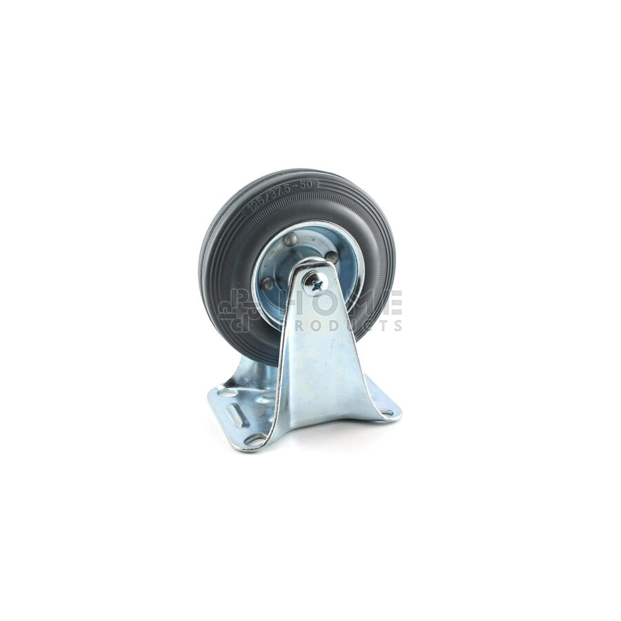 Rubber wheel, 125 mm 140kg